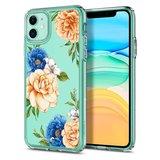 Spigen Ciel iPhone 11 hoesje Blue Floral