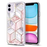 Spigen Ciel iPhone 11 hoesje Marble Roze