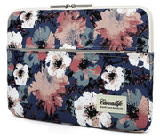 TechProtection Flower MacBook Pro 16 inch sleeve Blauw