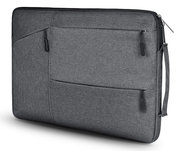 TechProtection Pocket MacBook Pro 16 inch sleeve Grijs