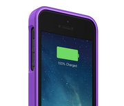 mophie Juice Pack Helium case iPhone 5/5S Purple