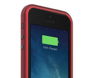 mophie Juice Pack Plus iPhone 5/5S case Red