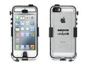 Griffin Survivor Catalyst Waterproof case iPhone 5/5S Black