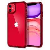Spigen Ultra Hybrid iPhone 11 hoesje Rood