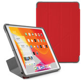 Pipetto Shield Origami iPad 2019 10,2 inch hoesje Rood