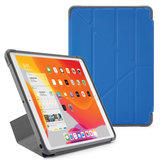 Pipetto Shield Origami iPad 2019 10,2 inch hoesje Blauw