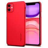Spigen Thin Fit iPhone 11 hoesje Rood