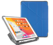 Pipetto Shield Pencil Origami iPad 2019 10,2 inch hoesje Blauw