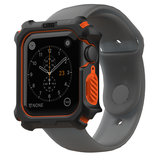 UAG Rugged Apple Watch 44 mm hoesje Zwart / Oranje