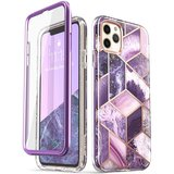 Supcase Cosmo Marble iPhone 11 Pro Max hoes Paars