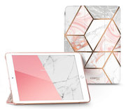 Supcase Cosmo Marble iPad 2019 10,2 inch hoesje Roze
