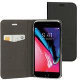 Mobiparts Book iPhone 6/6S hoesje Zwart