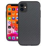 Evutec Aer Karbon iPhone 11 hoesje Zwart