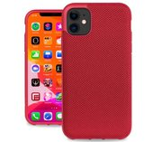 Evutec Nylon iPhone 11 hoesje Rood