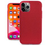 Evutec Nylon iPhone 11 Pro Max hoes Rood
