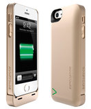 Boostcase Hybrid Power case iPhone 5/5S 2200 mAh Gold