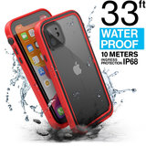 Catalyst Waterdicht iPhone 11 hoesje Rood