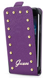 GUESS Studded Flip case iPhone 5C Purple