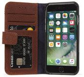 Decoded Leather Wallet iPhone SE 2020 hoesje Bruin