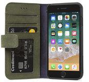 Decoded Leather Wallet iPhone SE 2020 hoesje Groen