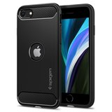 Spigen Rugged Armor iPhone SE 2020 / 8 hoesje Zwart