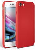TechProtection TPU iPhone SE 2020 hoesje Rood