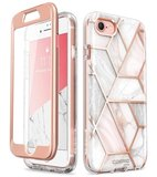 Supcase Cosmo iPhone SE 2020 hoesje Marble