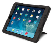Kensington BlackBelt Rugged Stand case iPad Air Black