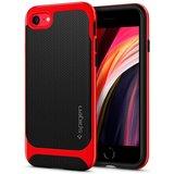 Spigen Neo Hybrid Herringbone iPhone SE 2020 hoesje Rood