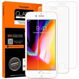 Spigen GlastR HD iPhone SE 2020 glazen screenprotector 2 pack
