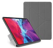 Pipetto Origami TPU iPad Pro 12,9 inch 2020 hoesje Grijs