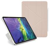 Pipetto Origami FolioiPad Pro 12,9 inch 2020 hoesje Roze
