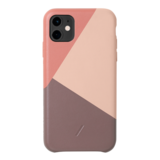 Native Union Clic Marquetry iPhone 11 hoesje Rose