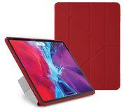 Pipetto Origami TPU iPad Pro 12,9 inch 2020 hoesje Rood