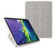 Pipetto Origami TPU iPad Pro 11 inch 2020 hoesje Zilver