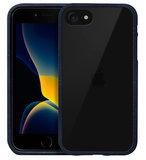 LAUT Crystal Matter iPhone SE 2020 hoesje Blauw