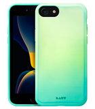 LAUT Huex Fade iPhone SE 2020 hoesje Mintgroen