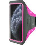 Mobiparts Comfort iPhone 11 Pro sportband  Neon Roze