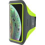 Mobiparts Comfort iPhone XSsportband Neon Groen