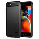 Spigen Slim Armor iPhone SE 2020 hoesje Zwart