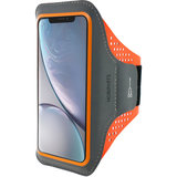 Mobiparts Comfort iPhone XR sportband Oranje