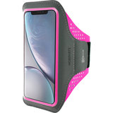 Mobiparts Comfort iPhone XR sportband Roze