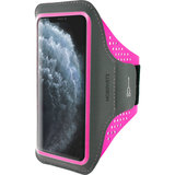 Mobiparts Comfort iPhone 11 Pro Max sportband Roze