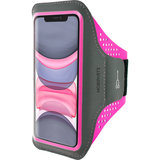 Mobiparts Comfort iPhone 11 sportband Roze