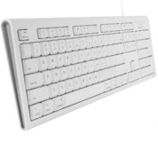 MacAlly QKEY bedraad Azerty USB toetsenbord Wit