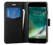 Xqisit Viskan Wallet iPhone SE 2020 / 8 hoesje Zwart