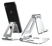 TechProtection AluStand opvouwbare iPhone standaard Zilver