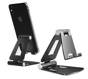 TechProtection AluStand opvouwbare iPhone standaard Grijs