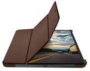 Macally BookStand iPad Pro 12,9 inch 2020 hoesje Bruin
