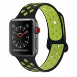 TechProtection Softband Apple Watch 44 / 42 mm Zwart Groen